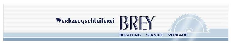 Werkzeugschleiferei Brey Logo
